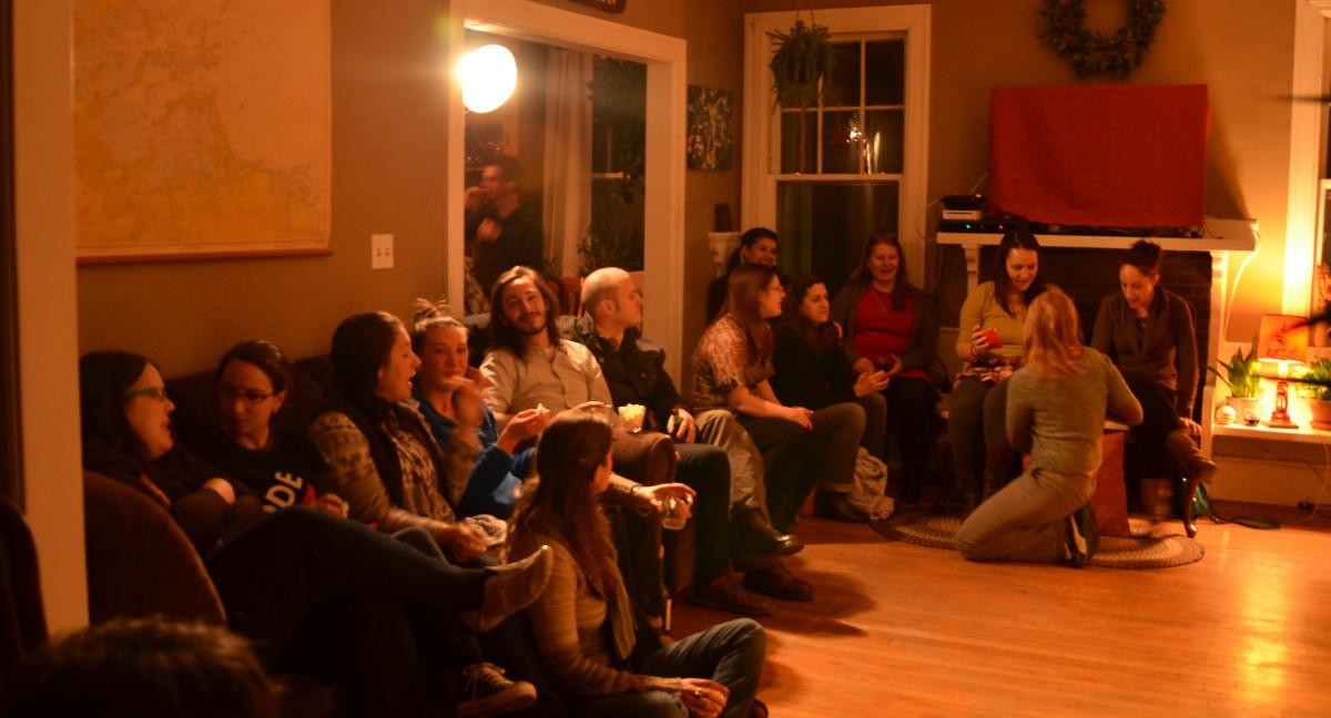 Watertown House Show audience